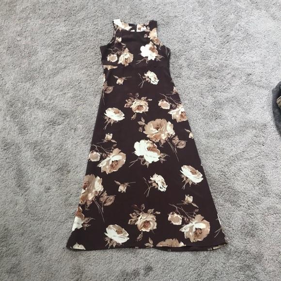 Byer California Dresses & Skirts - Vintage Floral Print Dress